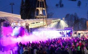 """Beim """"Rave on Snow"""" in Saalbach-Hinterglemm steppt der Bär und tanzt die Meute..."""
