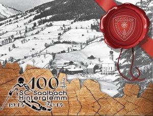 Der Schiclub Saalbach-Hinterglemm feiert unglaubliche 100 Jahre seines Bestehens...
