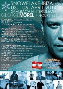 """Bei der """"Snowflake Ibiza"""" wird der Sound von Ibiza nach Saalbach-Hinterglemm gebracht..."""