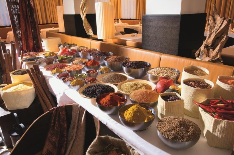 Gewürz-Bazar im Hotel Alpen Karawanserei