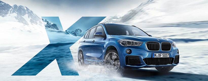 Mit einem BMW durch Schnee und Eis? Demnächst möglich!